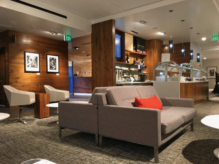 THE AMERICAN EXPRESS CENTURION LOUNGE