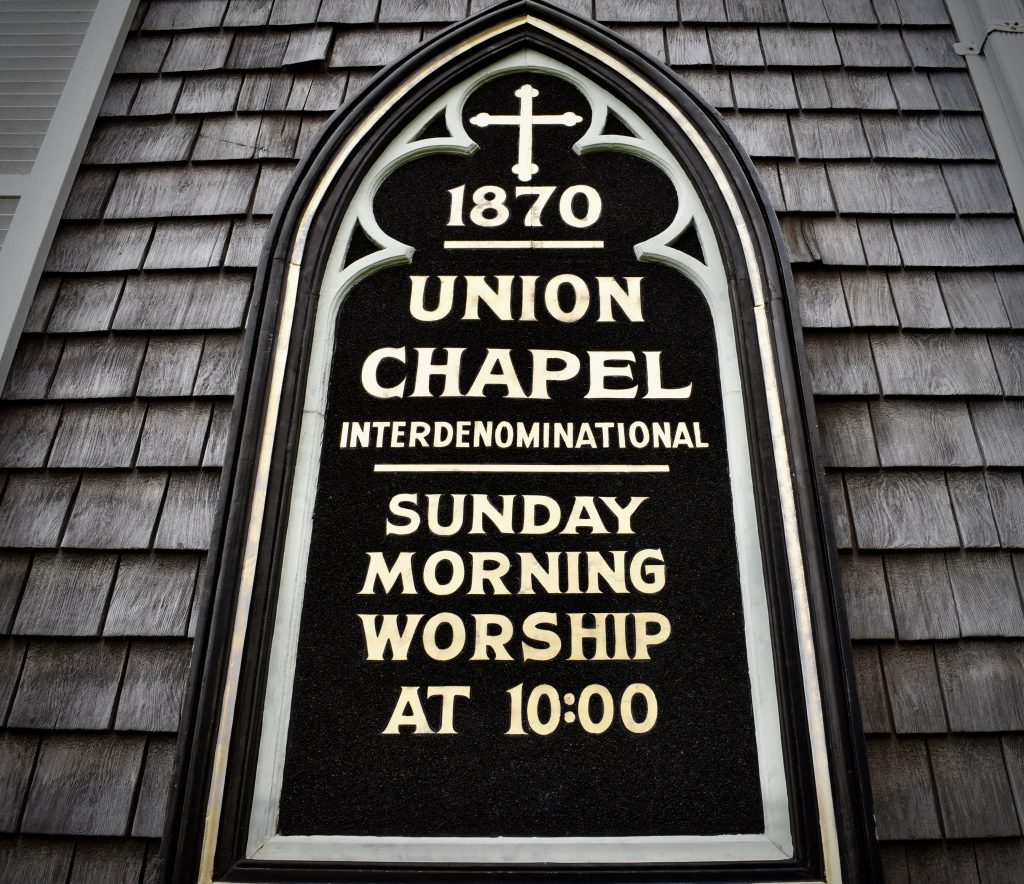 Union Chapel, Oakland Bluffs