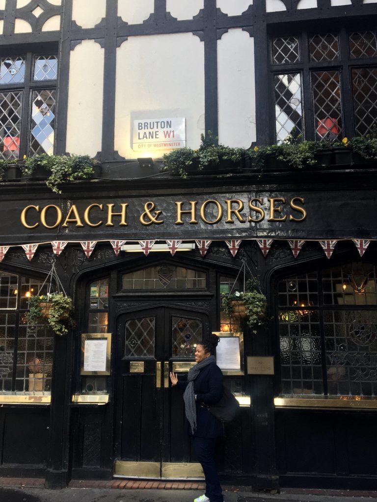 Coach & Horses, Mayfair