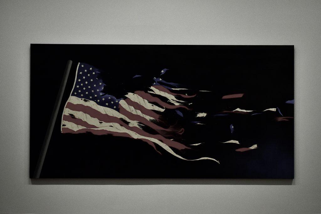 Our Flag Ed Ruscha